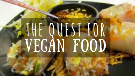 The Quest for Vegan Food featured image