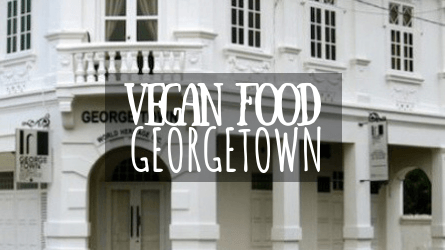 Vegan Food Georgetown Featured Image