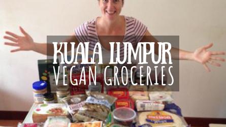 Kuala Lumpur Vegan Groceries Featured Image