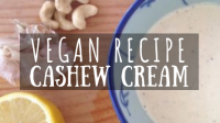 Vegan Recipe Cashew Cream featured image