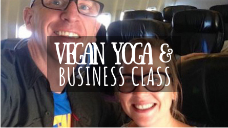 Vegan Yoga & Business Class Featured Image