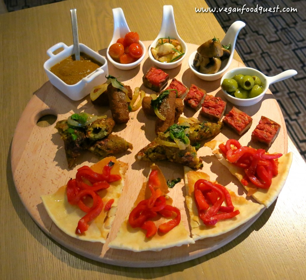 Doubletree johor bahru vegan luxury hotel review by for Canape platters