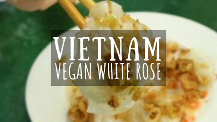 Vietnam Vegan White Rose featured image