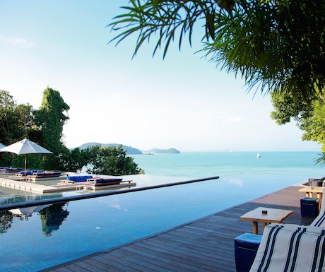 Breathtaking views over the Sri Panwa infinity pool.