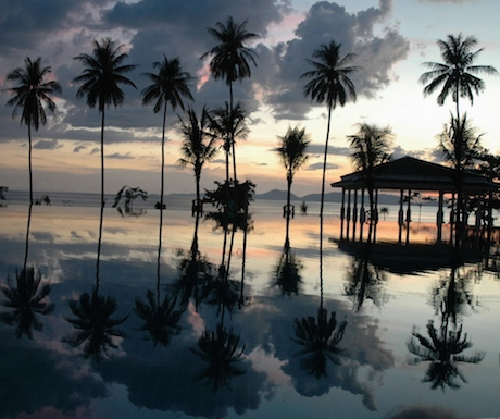 Andaman sunset at Sofitel Krabi