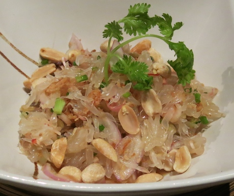 Pomelo salad that captured the taste of Thailand.