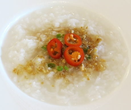 vegan plain rice congee at Sofitel Krabi Phokeethra Resort