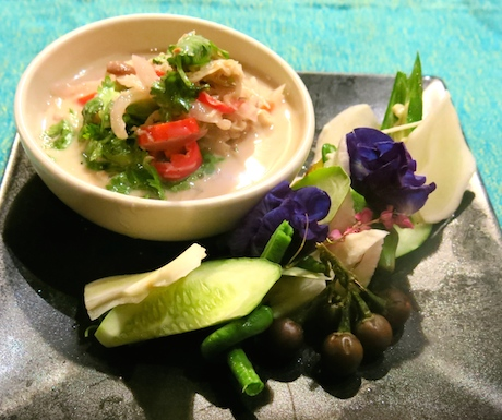 A tasty light salad full of exquisite Thai flavours.