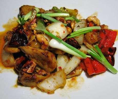 Chilli and Cashew Vegetables at Tubkaak Krabi Boutique Resort