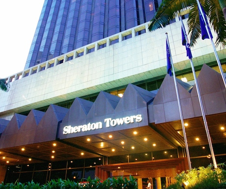 Sheraton Towers Singapore entrance