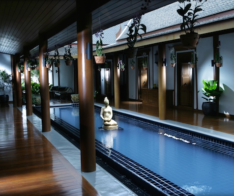 entrance to Le Spa at Sofitel Krabi Phokeethra Resort