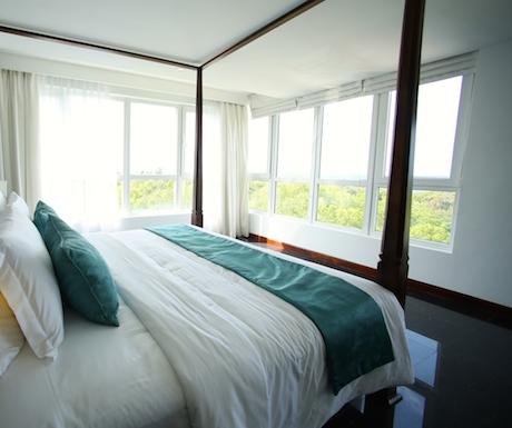 deluxe bedroom at Anilana Nilaveli