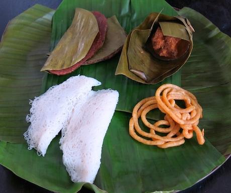 selection of vegan Sri Lankan dessert at Anilana Nilaveli