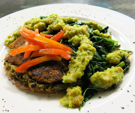 vegan protein platter at Anilana Nilaveli