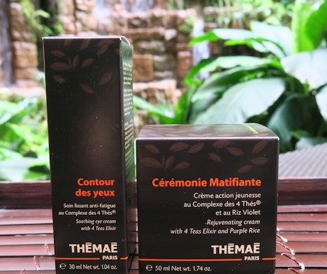 Vegan Themae products at Four Seasons Singapore