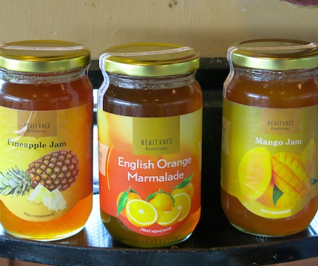 We loved their homemade jams, especially the pineapple variety.