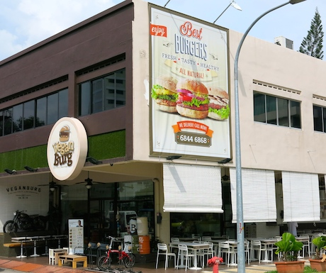 VeganBurg on Jalan Eunos, Singapore.