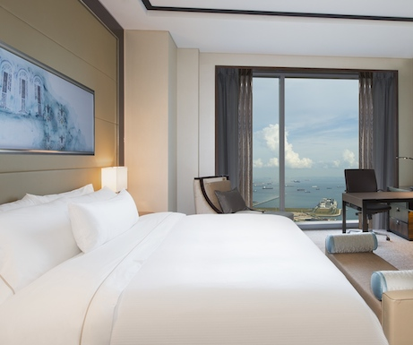 Executive Sea View Room at Westin Singapore