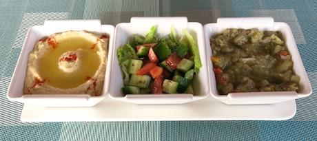 Fresh mezze platter.