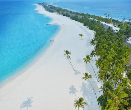 the incredible natural beauty of Atmosphere Kanifushi in the Maldives