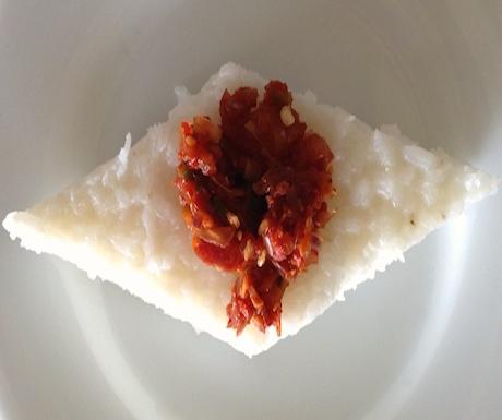 vegan kiribath in Sri Lanka