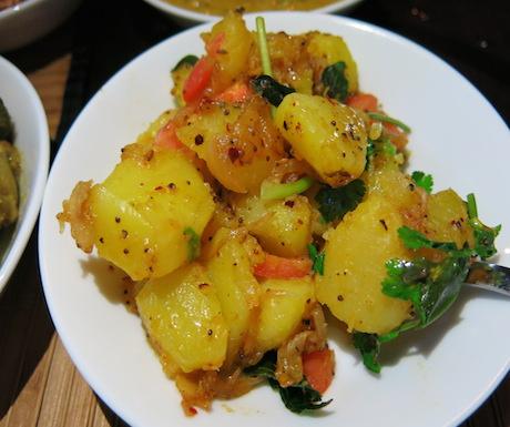 sri lankan rice and curry_4439