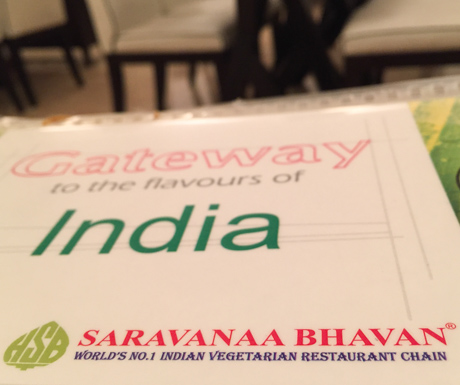 Saravanaa Bhavan serves delicious vegan Indian food in Bangkok