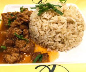 vegan mock meat at Talalask in Bangkok