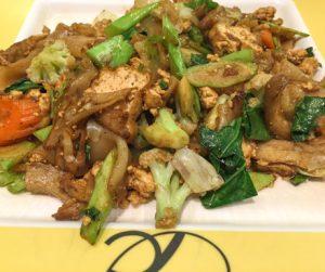 Vegan pad se ew at Talalask in Bangkok