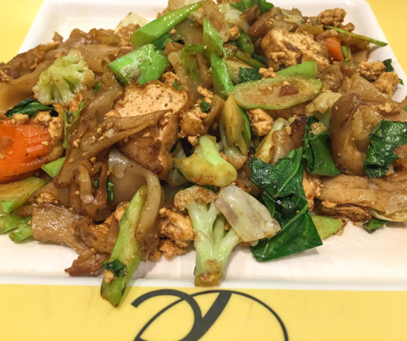 Vegan pad se ew at Talalask in Bangkok