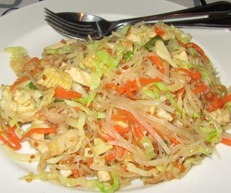 Yummy Pad Thai.