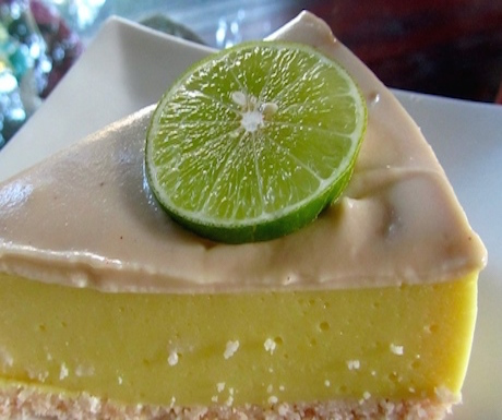 vegan key lime pie at Rasayana Retreat in Bangkok