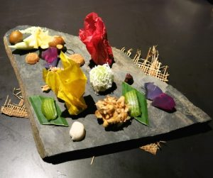 Our beautiful 'Petit Fours' at the wonderful Bo.lan.
