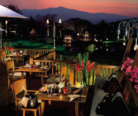 When the sun drops behind the hills, Terraces takes on a whole new ambience.