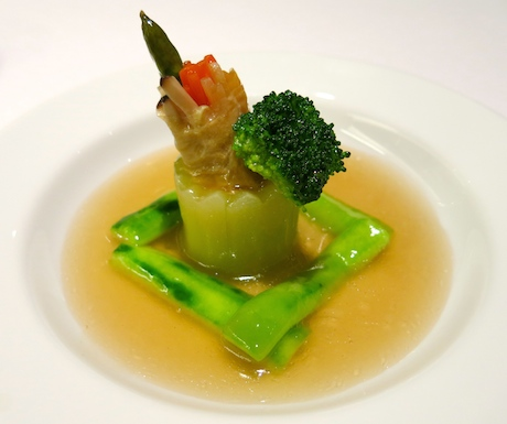 Cantonese vegan food at Shangri-La Chiang Mai