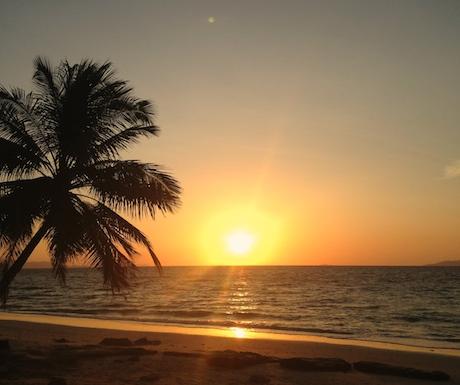 Sunrise at Pansand on day 365