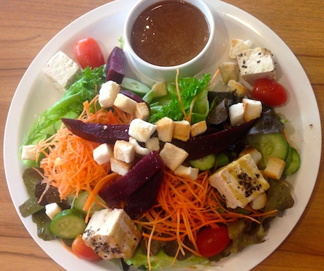 Mixed salad at Salad Concept.