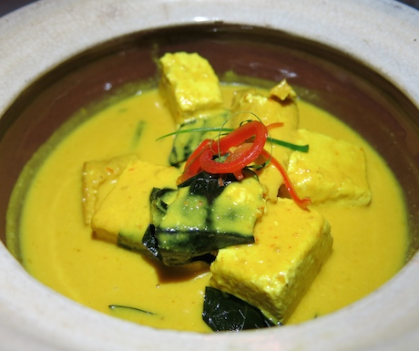 Delicious and full of protein, our vegan 'amok' curry was creamy, spicy and rich