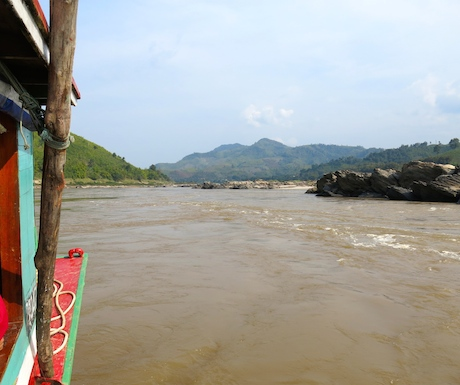Our journey along the Mekong continues on day 2 deep into Laos.