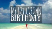 12th Vegan Birthday featured image