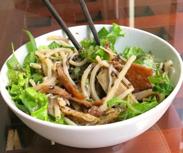vegan cau lao in Vietnam