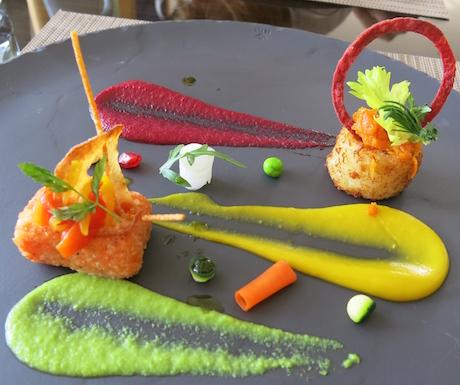 Vegan food art for BLD's Award Winning Executive Chef.
