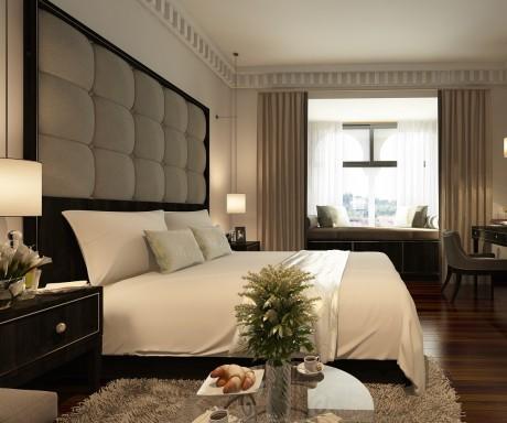 Sarai Resort corner room1