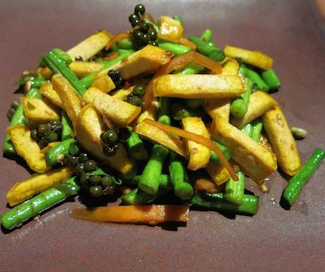 Delicious vegan food at Benz.