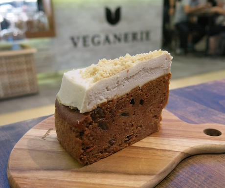 Eat vegan cake until your heart is content at Veganerie.