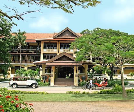 Victoria Angkor Resort in Siem Reap