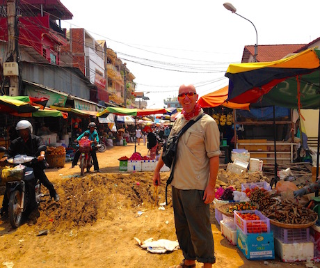 Even going to the market can be an adventure...