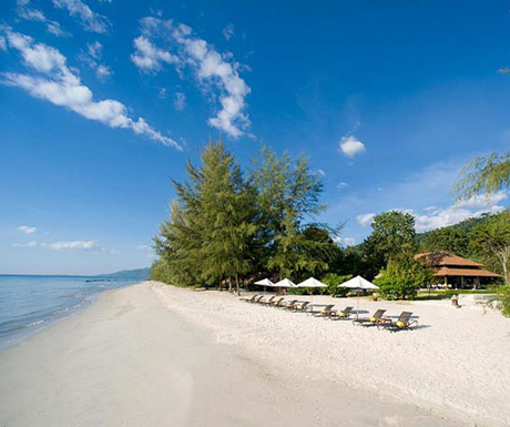 perfect beach at Centara Trat