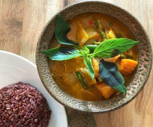Footprint vegan curry