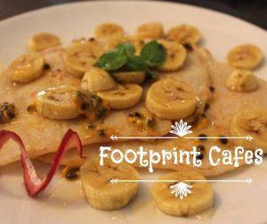 vegan pancakes at Footprints in Siem Reap